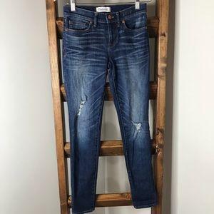 Madewell Distressed Skinny Skinny Jeans • Size 25